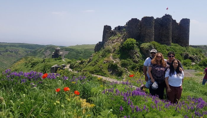 Tour to Amberd Castle