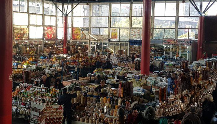Food Bazaar in Yerevan